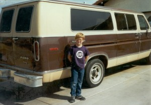 Me as a young dork...