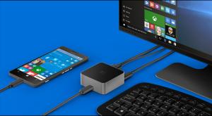 Lumia 950 with Dock