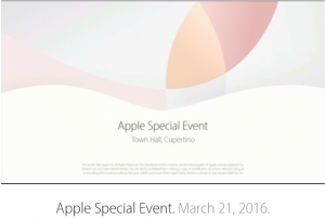 Review of Apple Press Event - Intro