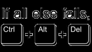 Windows keyboard shortcuts - Ctrl+alt+del