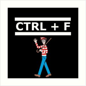 Windows keyboard shortcuts - Ctrl+F