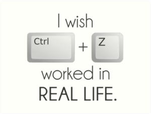 Windows keyboard shortcuts - Ctrl+Z