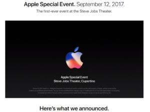 Apple 2017 Press Event
