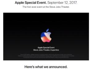 Apple 2017 Press Event